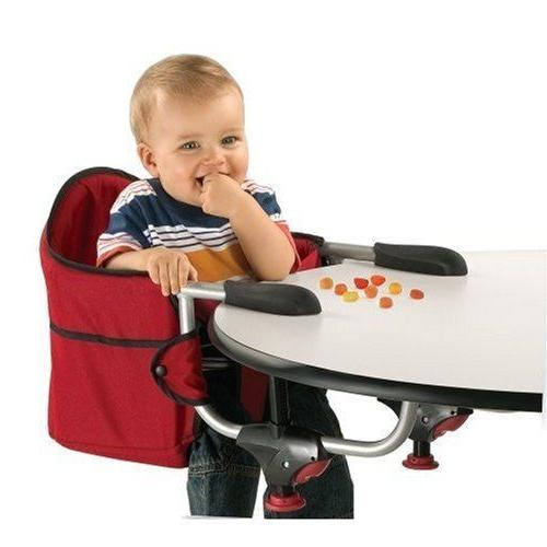 Portable High Hook On Table Baby Feeding Seat Travel Booster Caddy Toddler
