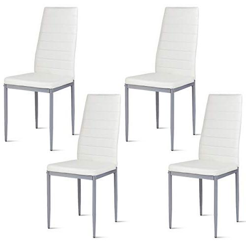 pu leather dining side chairs