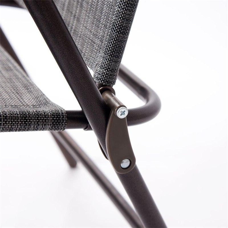Set Folding polyester <font><b>Chairs</b></font> Minimalist Modern Quality