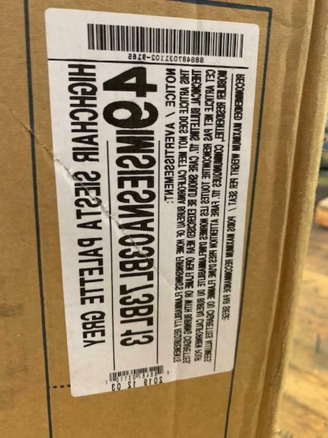 Peg Siesta Chair Palette Grey 49IMSIESNA03BL73BL13 New in