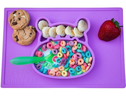 silicone placemat plate tray