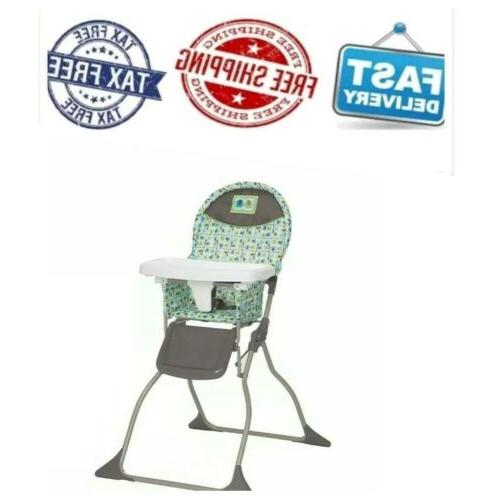 simple fold baby high chair with 3