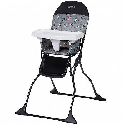 Cosco Simple Fold Full Size High Chair with Adjustable Tray,