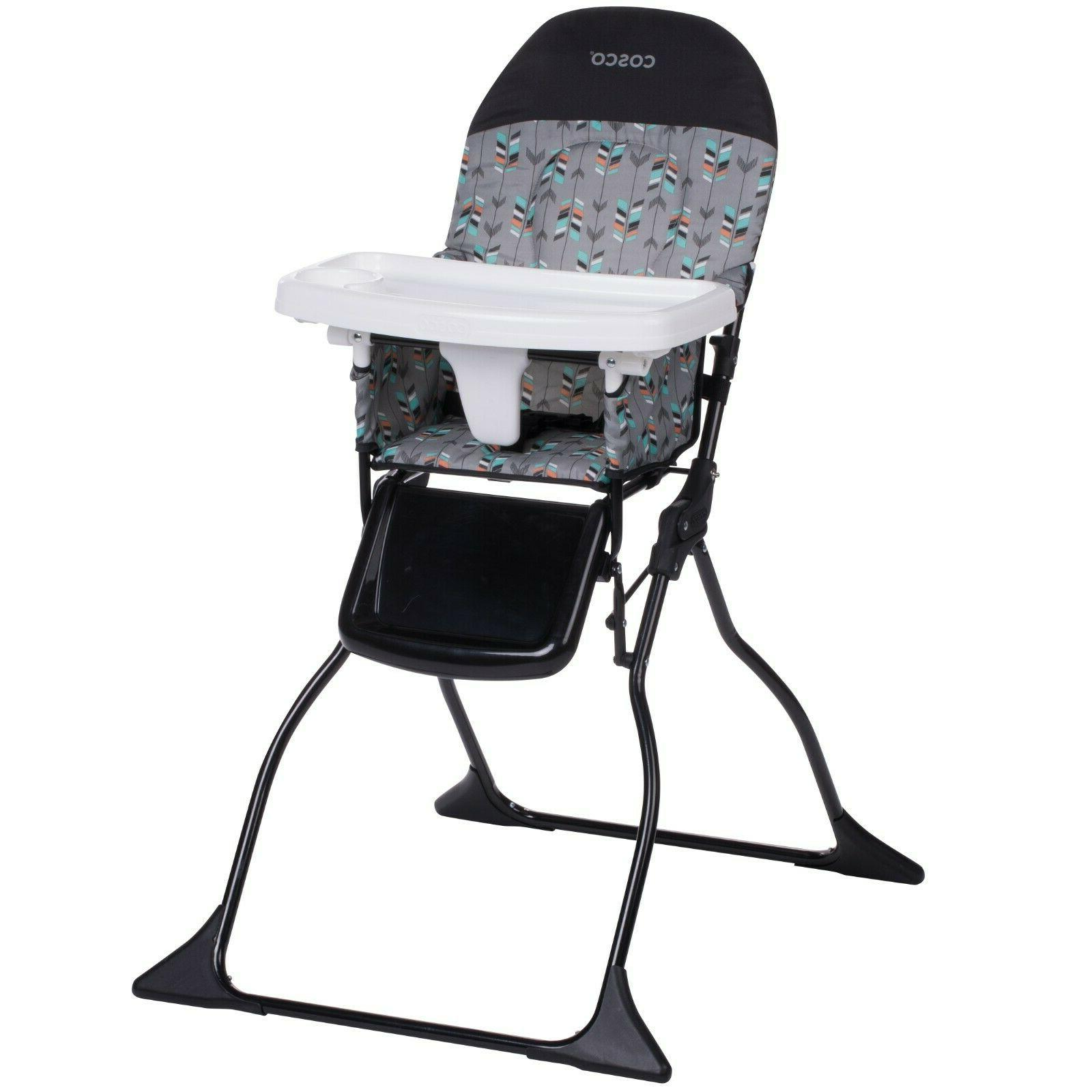 Cosco Simple Fold™ Full Size High Chair, Etched Arrows Cos