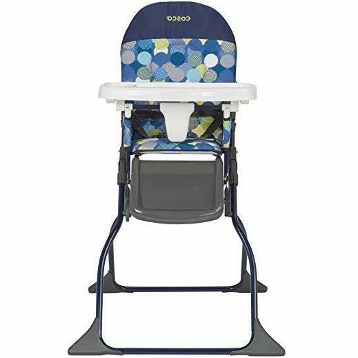 simple fold high chair comet