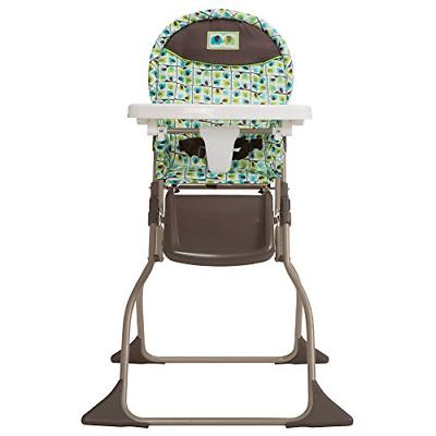 simple fold high chair with 3 position