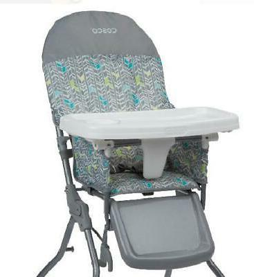 Simple Fold High Chair with Adjustable Tray Leg Rest Easy St