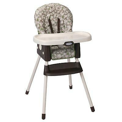 Graco Simpleswitch Portable High Chair and Booster, Zuba, On
