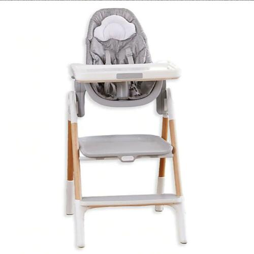 sit to step convertible high chair in