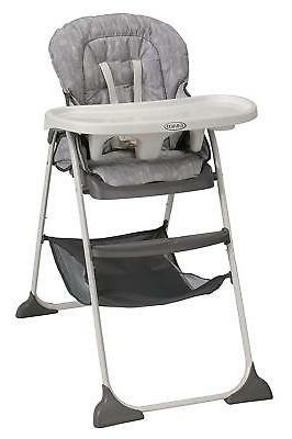 slim snacker high chair whisk
