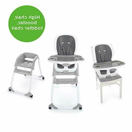 Ingenuity Trio Elite 3-in-1 High – Peacock Chair, Toddler Booster