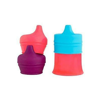 Boon Snug Spout With Cup Pink/Purple/Blue