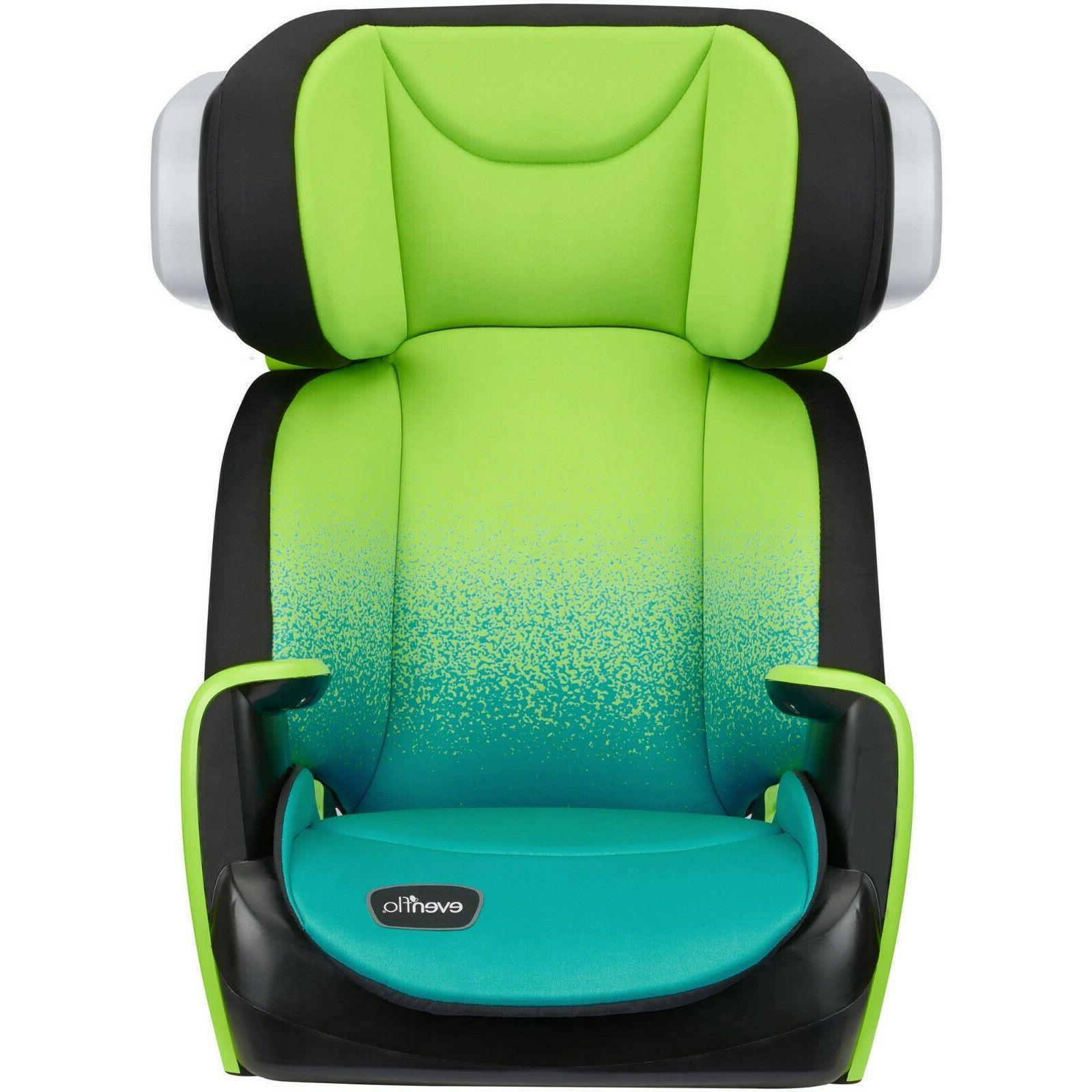 spectrum high back booster car seat seascape