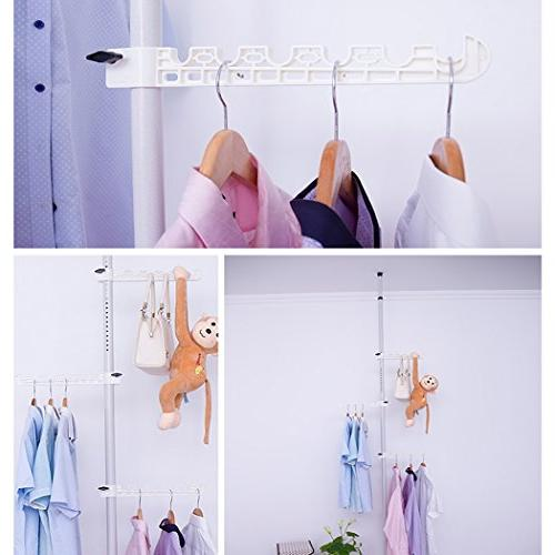 Asunflower Racks 3-Tier Clothes Hanger,Free for