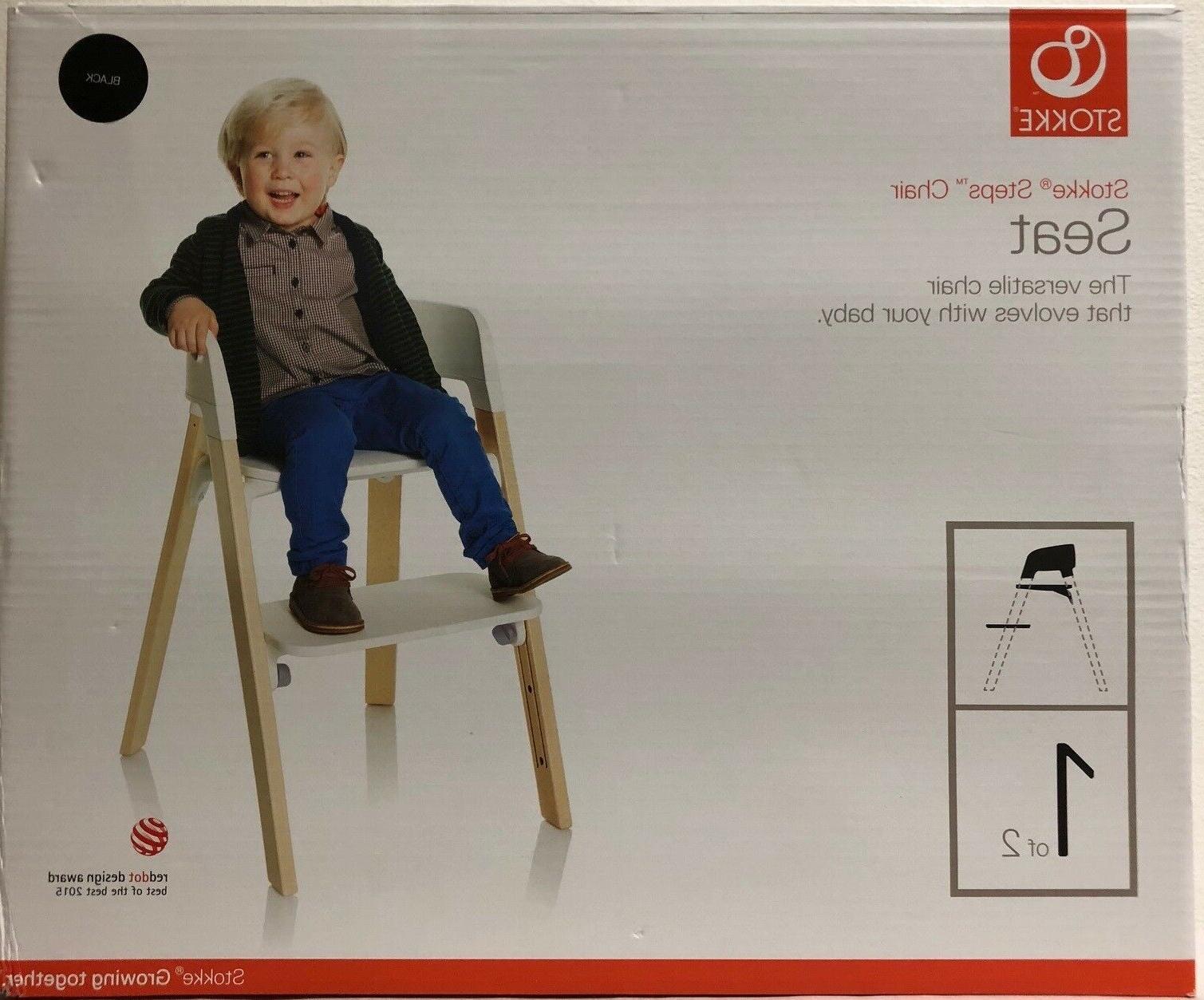 steps adjustable versatile baby high chair w