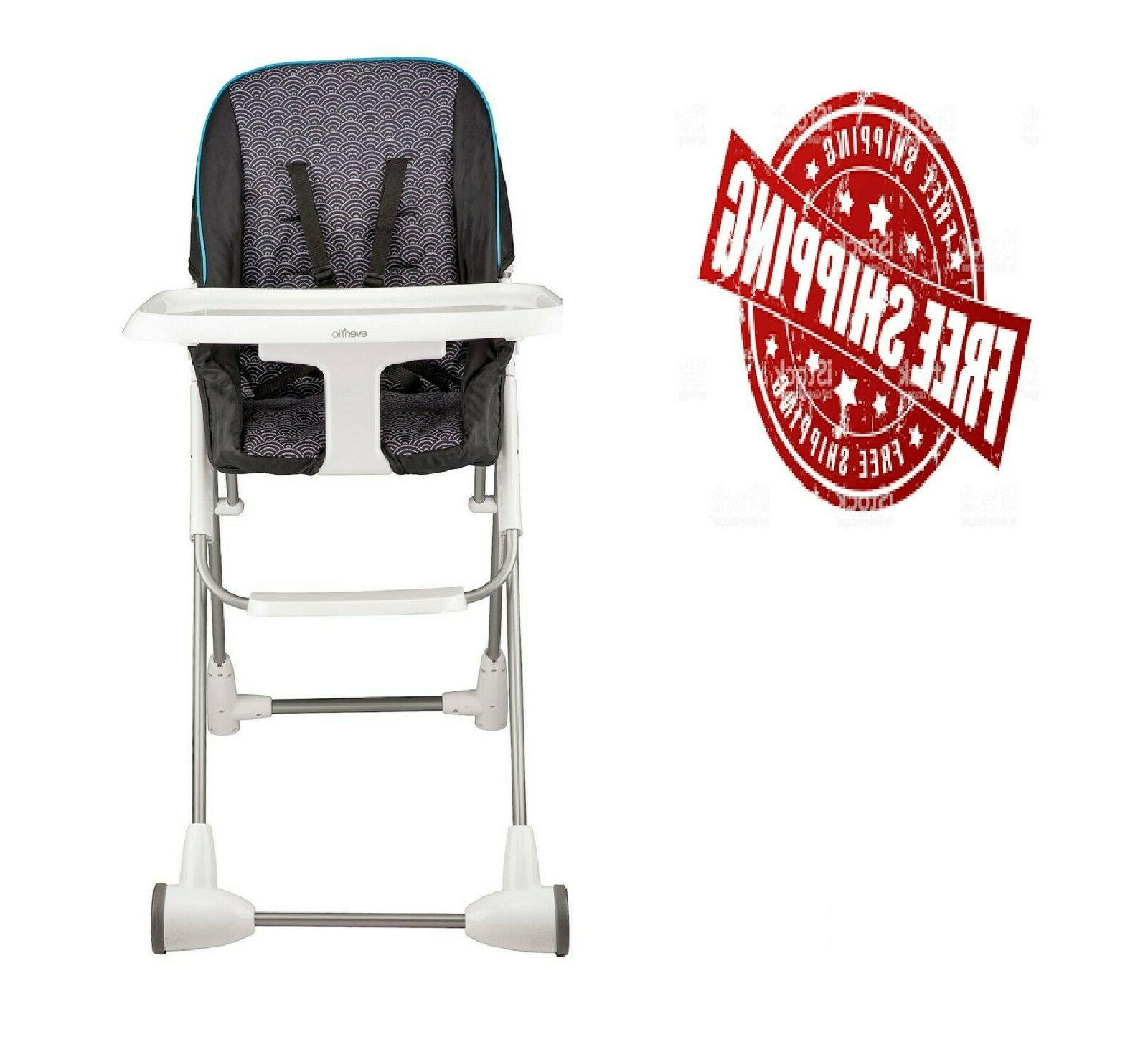 symmetry flat fold high chair choose your