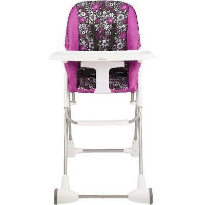 symmetry flat fold high chair daphne