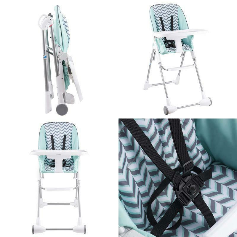 symmetry high chair spearmint spree