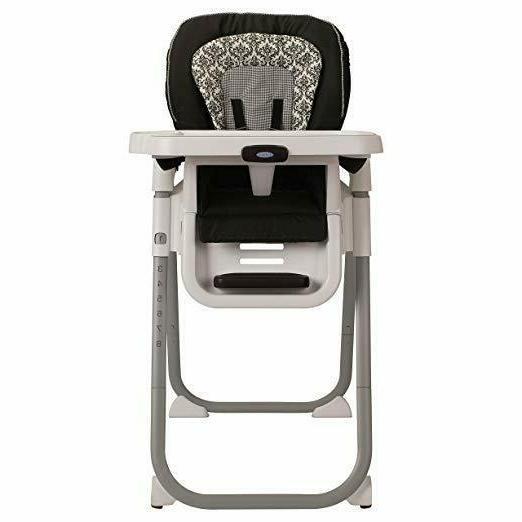 Graco TableFit Rittenhouse High Chair, Black/White Booster B