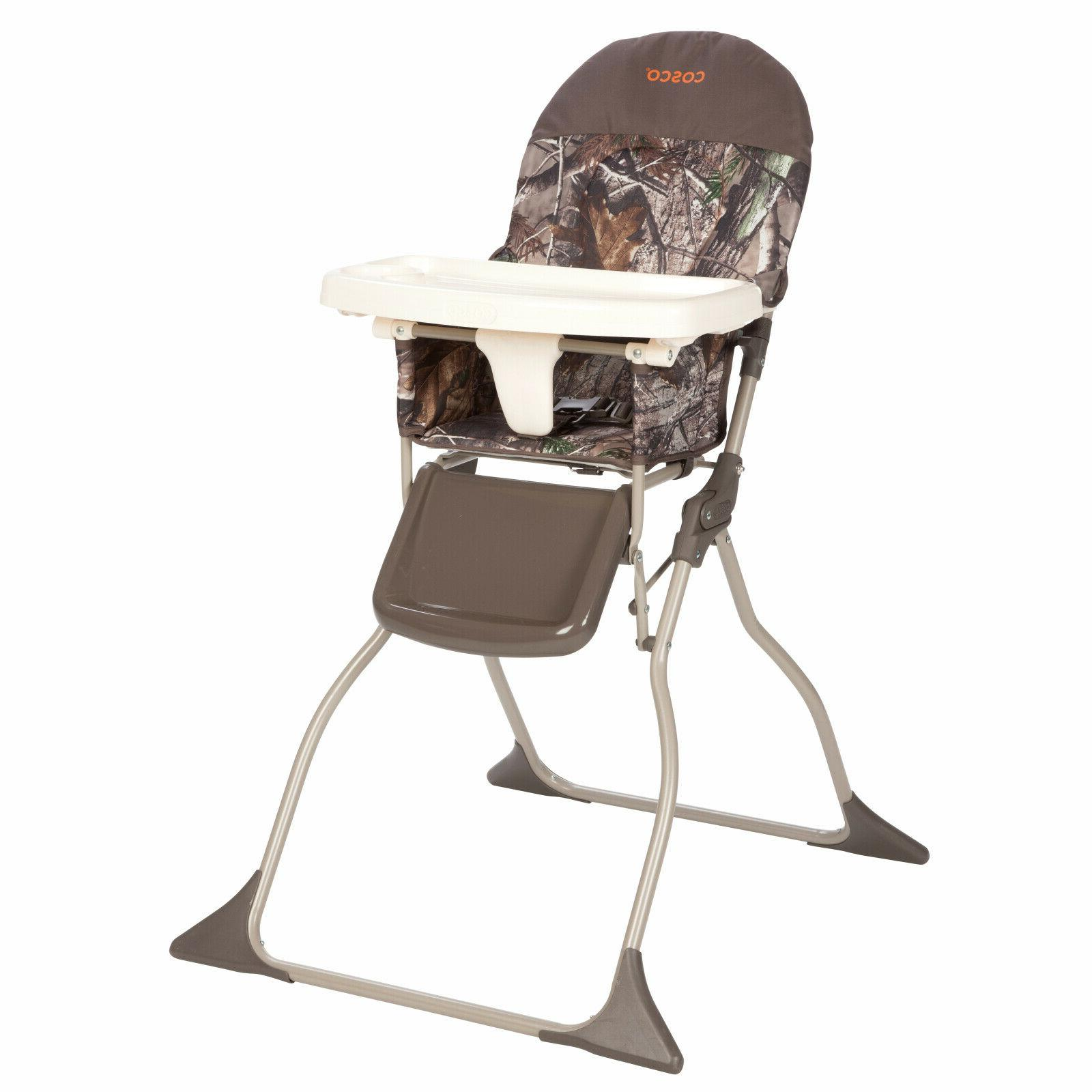 Toddler High Chair Convertible 3 Point Harness w/ Adjustable