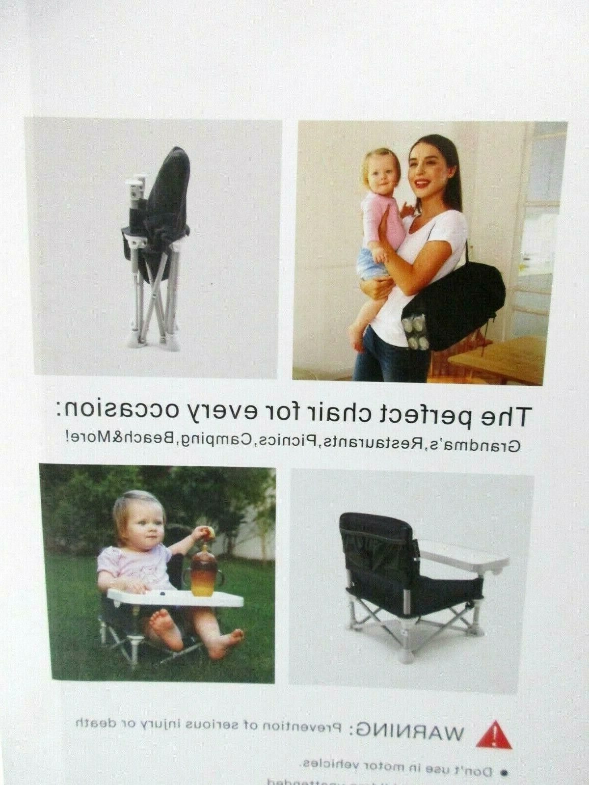Veeyoo travel w/Tray Portable High Chair