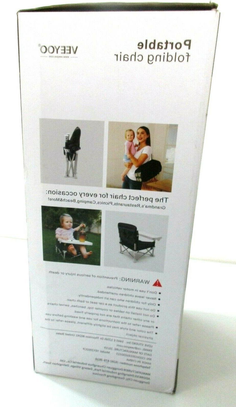 Veeyoo travel w/Tray BabyTable Portable Chair