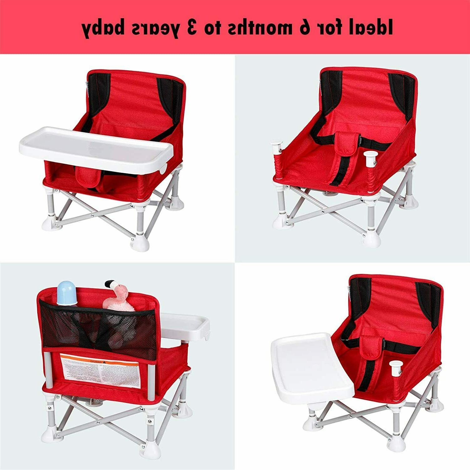 Veeyoo travel Booster w/Tray BabyTable Camping Portable