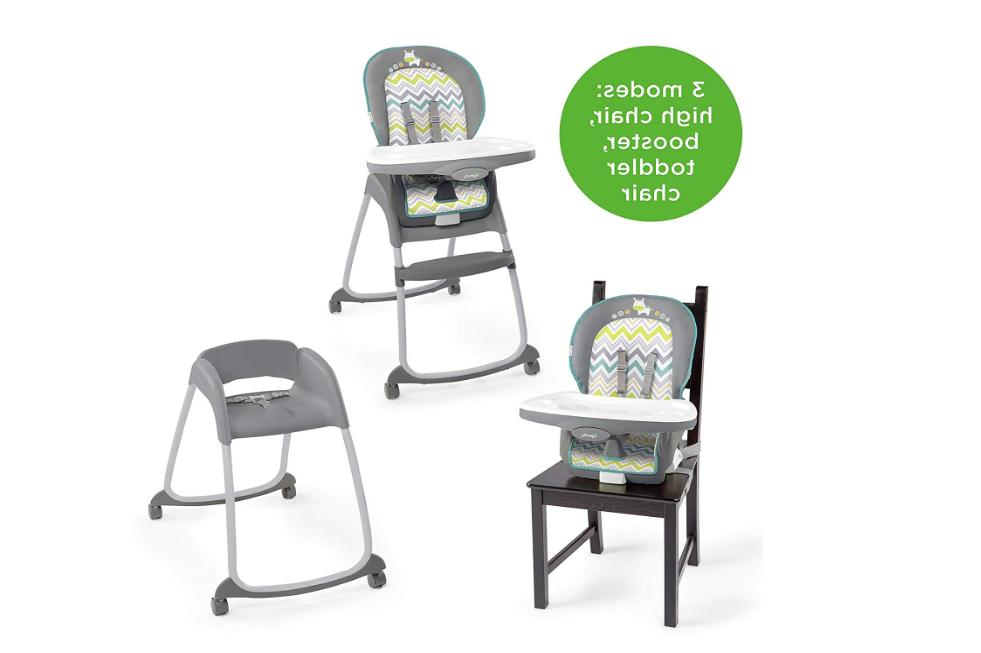 Ingenuity Trio 3-in-1 High Chair Booster Seat Infant Toddler
