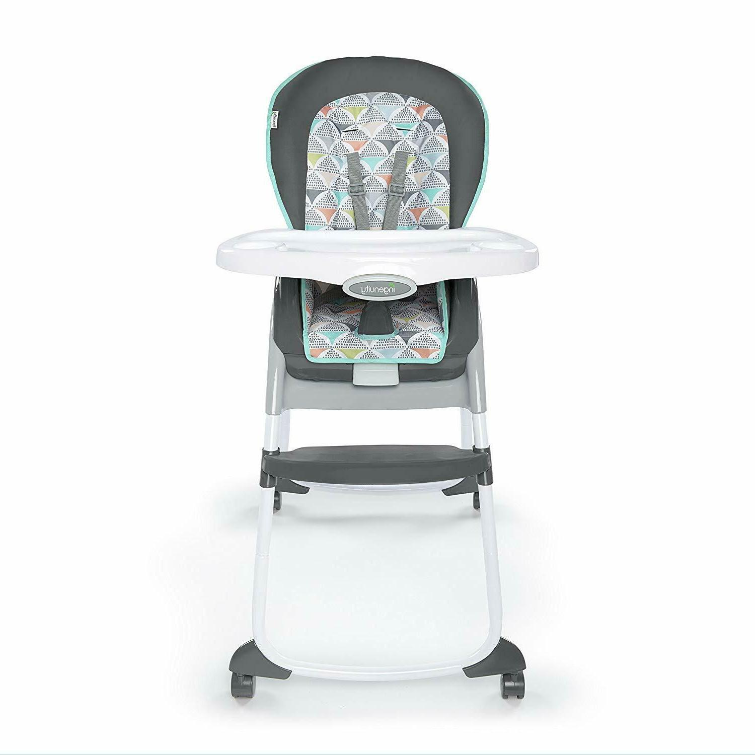 Ingenuity Trio 3-in-1 High Chair - Bryant - High Chair, Todd