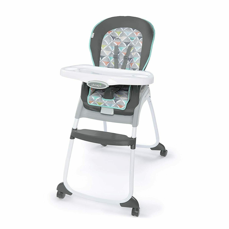 Ingenuity Trio 3-in-1 Ridgedale High Chair, Grey **FREE SHIP