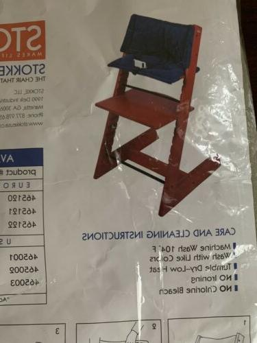 tripp trapp high chair cushion olive