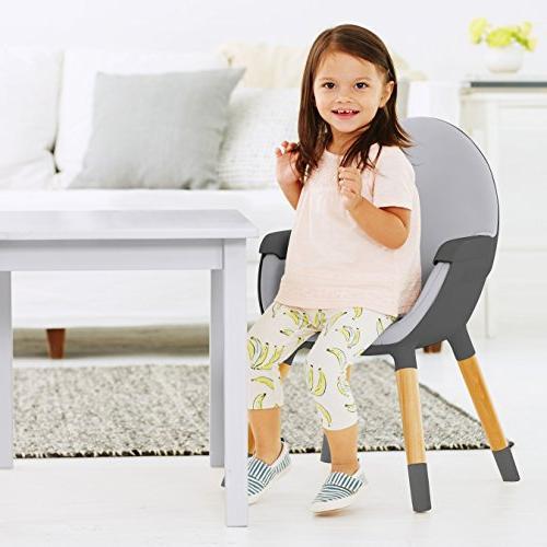 Skip Hop High Chair, Grey
