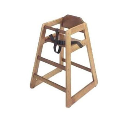 wd hca high chair natural assembled increments