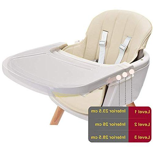 Asunflower Wood High Toddlers Convertible Solution for Infants with