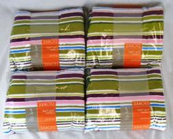 Lot of 4 Stokke Multicolor Stripes Cushion Sets for Tripp Tr