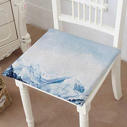 Mikihome Memory Foam Chair Pads top of high Mountains Covere