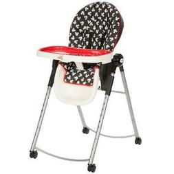 Mickey Silhouette Baby Adjustable High Chair W/ 4-Position T