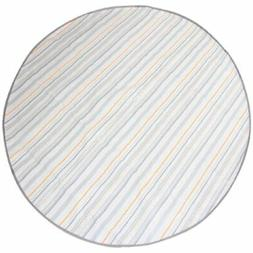 multi purpose catchall gray stripe childrens highchair