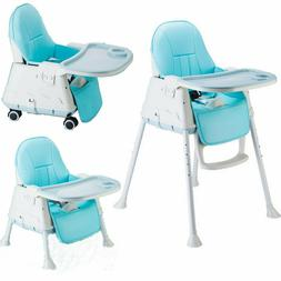 Multifunctional Kids Baby High Chair Toddler Feeding Chair H