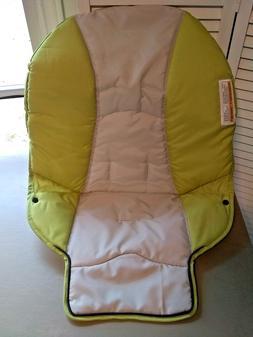 NEW Graco DuoDiner High Chair Seat Pad Cushion Green Gray Sa