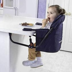 NEW! Regalo Easy Diner Portable Hook On Highchair Navy FITS