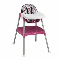 NEW HOT - Evenflo Convertible High Chair, Dottie Rose
