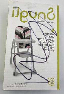 NEW Snugli High Chair Style Set - Pink Geo Your Style Your W