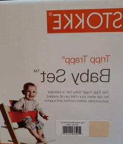 New Stokke Tripp Trapp High Chair Baby Set- Natural