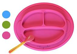 Non-slip Suction Placemat Combo. Includes Monkey Silicone Pl