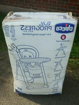 Chicco Polly Progress 5-in-1 Relax Multi High Chair
