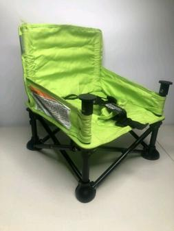 Summer Infant Pop and Sit Portable Booster, Green/Grey New O