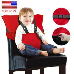 Portable Adjustable Baby High Harness Travel High Chair for