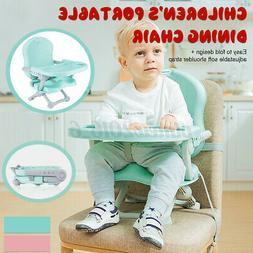 Portable Adjustable Children's Baby Toddler Dining Feeding C