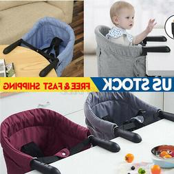Portable Baby Dining Highchair Foldable Feeding Travel Chair